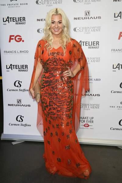 Katrina Patchett n'est pas passée inaperçue durant la Fashion Week