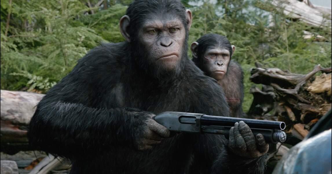 La nation créée par César est menacée par une groupe d'hommes armés. La guerre est inévitable...