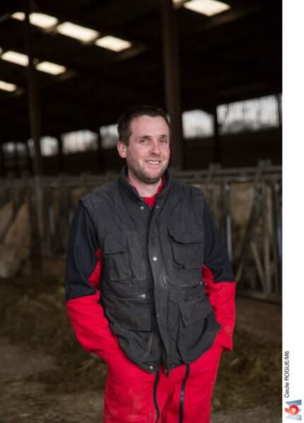 François, 34 ans, éleveur de vaches, Pays de la Loire