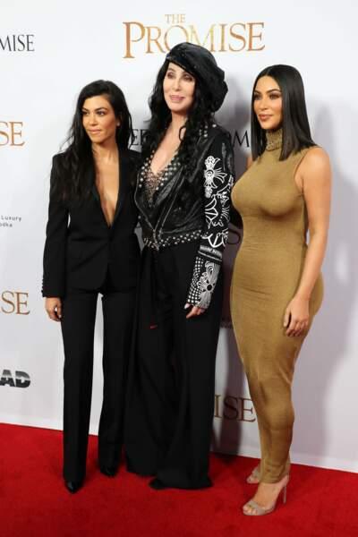Avec Cher, elles formaient un joli trio
