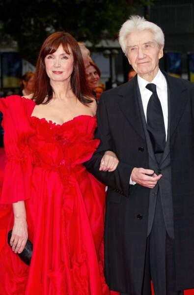 Sabine Azéma, muse et épouse d'Alain Resnais, décédé en mars 2014.