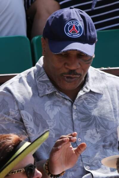 Mike Tyson, qui est un grand fan de Serena Williams, est venu la soutenir