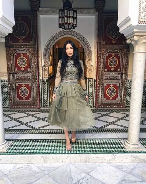 La youtubeuse Sananas était RA-VIE d'être à Marrakech.