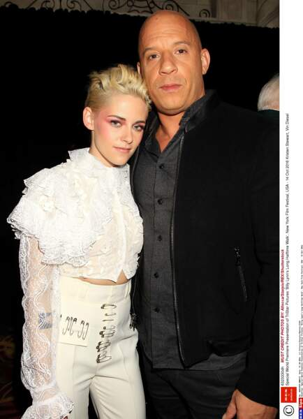 Avec Vin Diesel, l'autre star d'Un jour dans la vie de Billy Lynn
