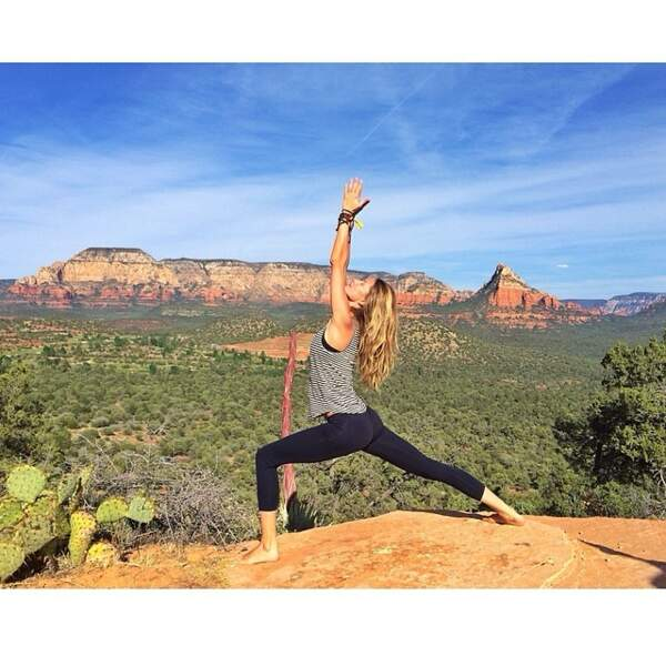 Vous l'aurez compris, le yoga, c'est très important pour elle.