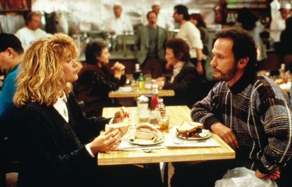 Quand Harry rencontre Sally, LA comédie romantique par excellence, avec la piquante Meg Ryan