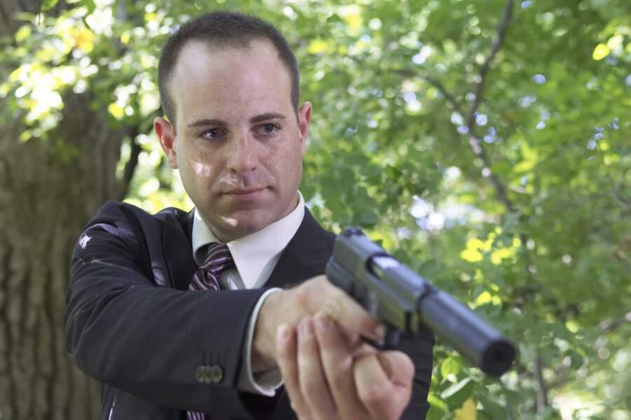 Paul Adelstein jouait l'agent Kellerman, tueur à la solde de la présidente