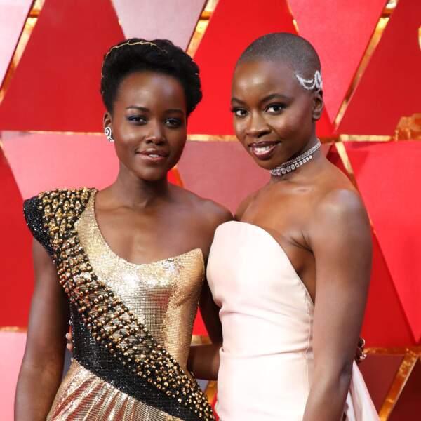 Lupita Nyong'o et Danai Gurira, héroïnes de Black Panther