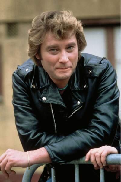 1981 : Veste en cuir et oeil qui frise... Attitude de séducteur