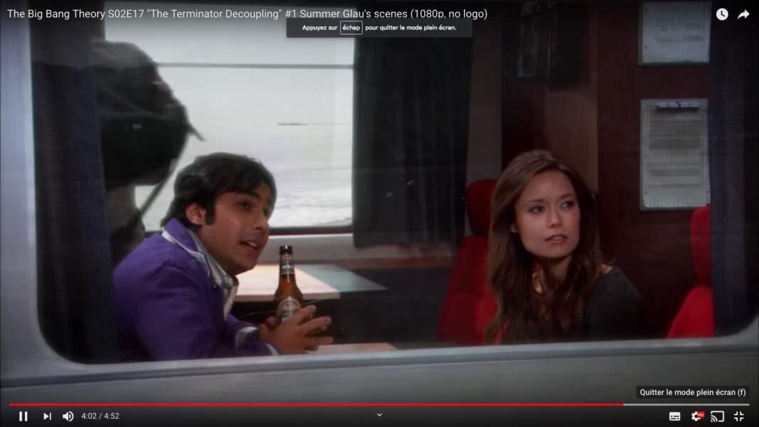 Raj a tenté de draguer Summer Glau, actrice de Firefly et Terminator : Les Chroniques de Sarah Connor