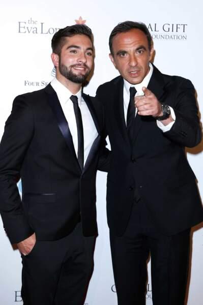 Le très classe Nikos Aliagas et Kendji