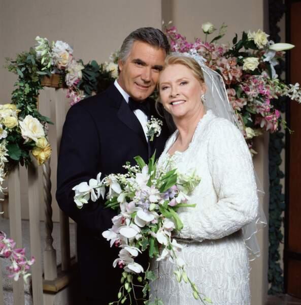 .. mais le couple vivra plusieurs séparations et remariages, comme ici en 1997