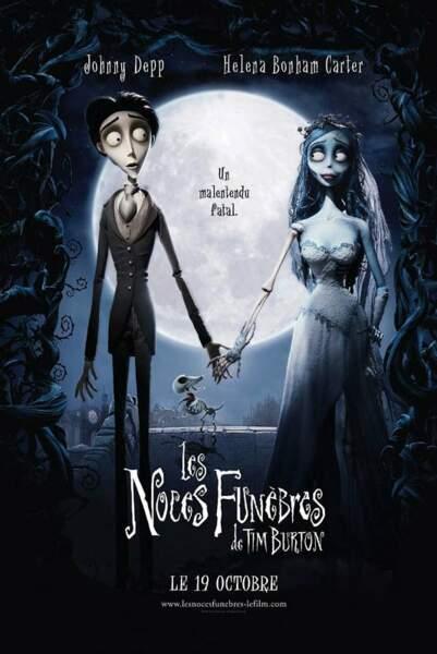 En 2005, Tim Burton renoue avec l'animation et nous offre un joli conte gothique romantique, Les noces funèbres