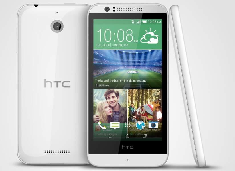 HTC Desire 510 : une belle autonomie