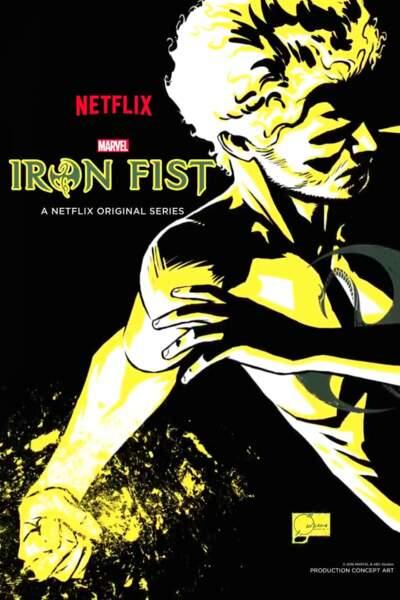 Iron Fist, le dernier né des super-héros de Netflix.