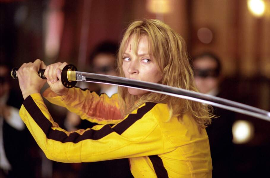 Pour sa performance dans Kill Bill, Uma Thurman a reçu le Golden Globe de la meilleure actrice en 2004.