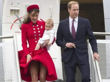 Le très mignon prince George en voyage en Nouvelle- Zélande