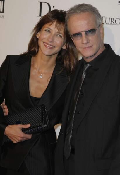 Entre Sophie Marceau et Christophe Lambert, le coup de foudre aura duré 7 ans.