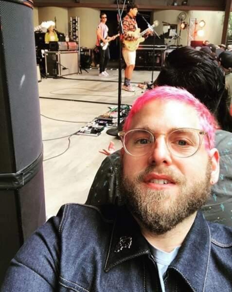 Les cheveux roses, on n'est pas certains de valider