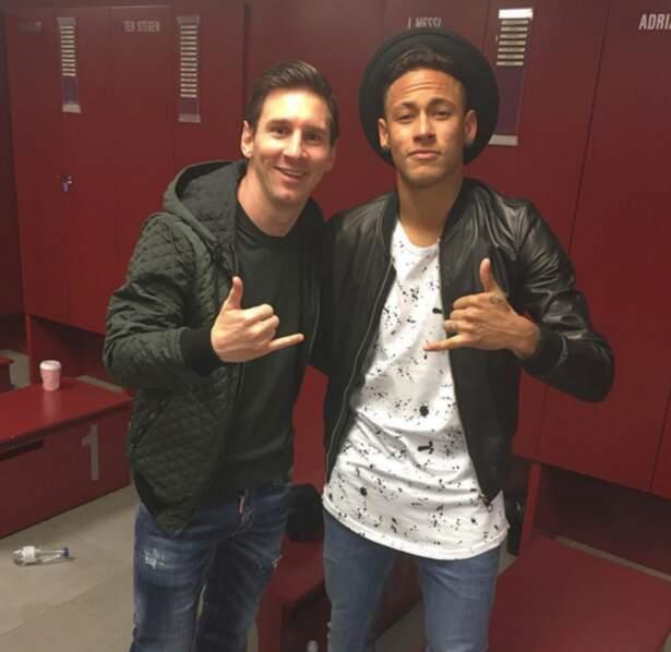 En plus Neymar et Messi veulent ton numéro.