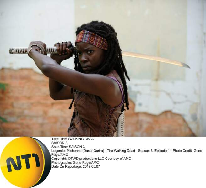 La belle Michonne, personnage ultra badass