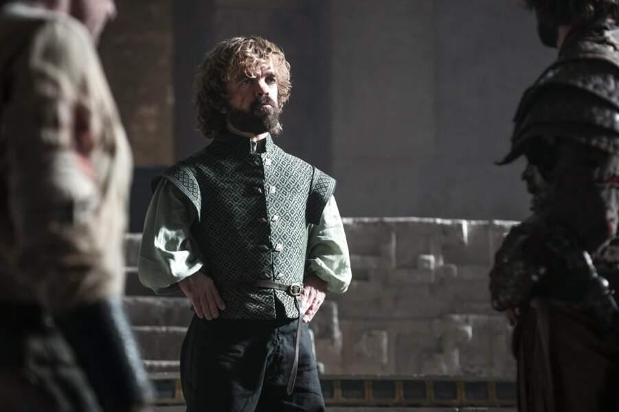 Peter Dinklage (Tyrion Lannister), a lui aussi un look totalement différent dans X-Men : Days of Future Past.