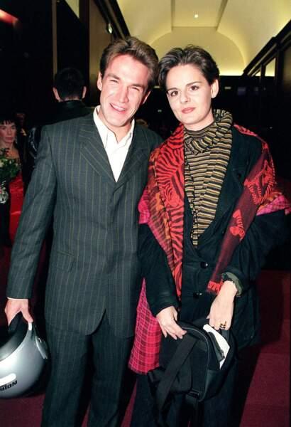 Sa première épouse : Valérie Sapienza, la mère de ses fils Julien, né en 1996 et Simon, né en 2000.