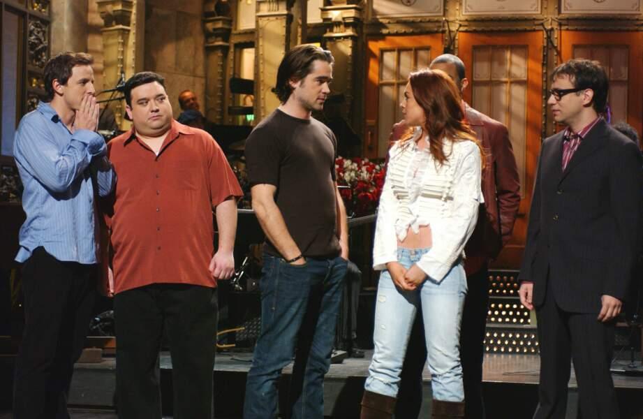 Puis c'est au tour de Lindsay Lohan, toujours 2004 et selon les rumeurs, de céder aux charmes de l'acteur !
