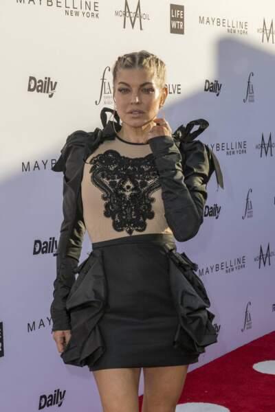 Fergie des Black Eyed Peas tricherait aussi...