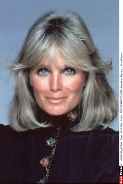 Linda Evans était la belle Krystle Carrington.