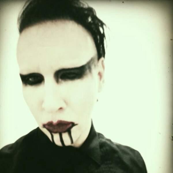 Les Tweet de Marilyn Manson sont rares, alors on vous en fait profiter