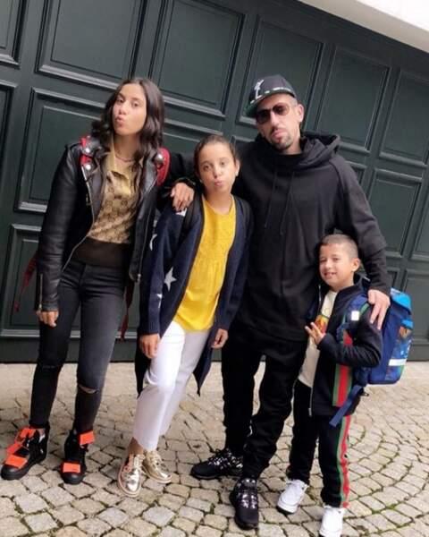Ribéry se prépare pour sa rentrée scolaire