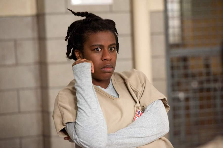 """Dans la prison, Suzanne Warren a hérité du surnom de """"Crazy Eyes"""""""