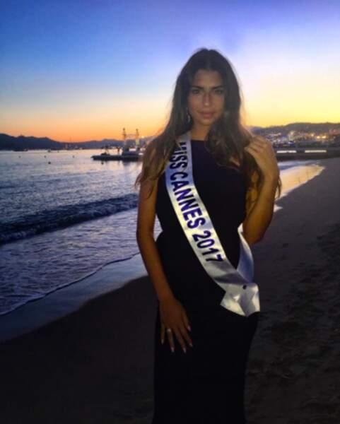 D'abord Miss Cannes, elle a été sacrée Miss Côte d'Azur !