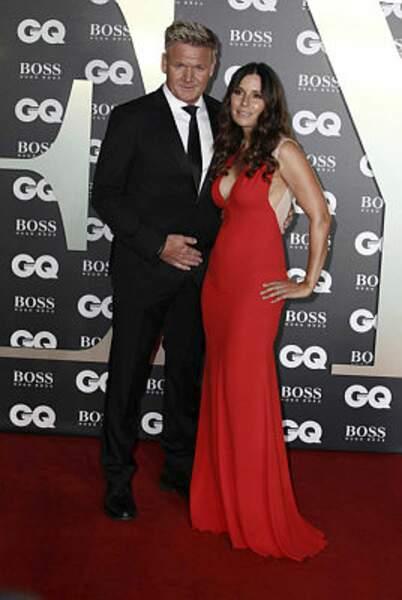 Le Chef Gordon Ramsay et sa femme Tana Ramsay