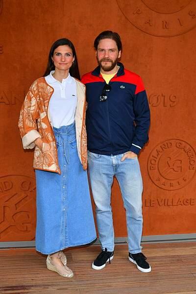 L'acteur allemand Daniel Brühl et sa femme Felicitas Rombold