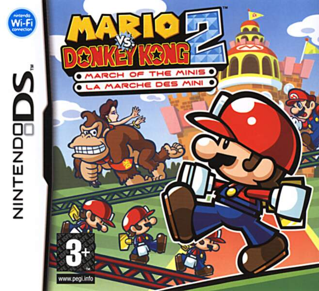 Mario vs. Donkey Kong 2 : March Of The Minis - Nintendo DS (2006)