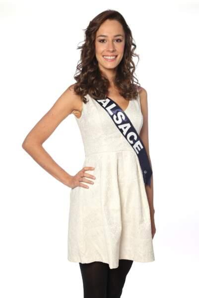 Laura Strubel, Miss Alsace 2013