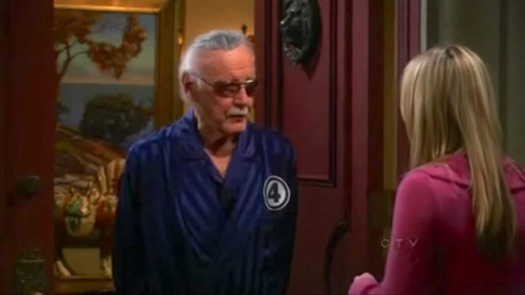 Stan Lee, l'ancien éditeur en chef de Marvel Comics, est apparu le temps d'un épisode dans son propre rôle