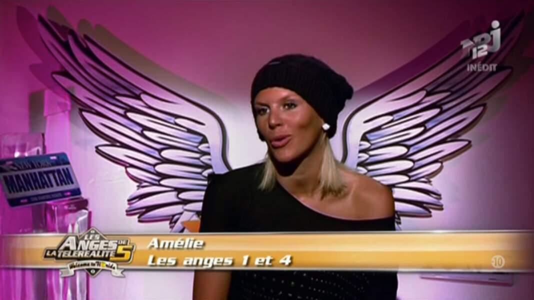 Amélie Neten (Saison 4) participe aux Anges...régulièrement