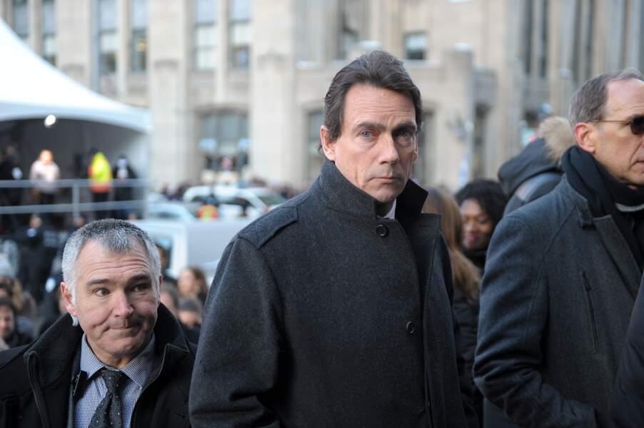 Le politicien Pierre Karl Péladeau, époux de Julie Snyder, était là aussi