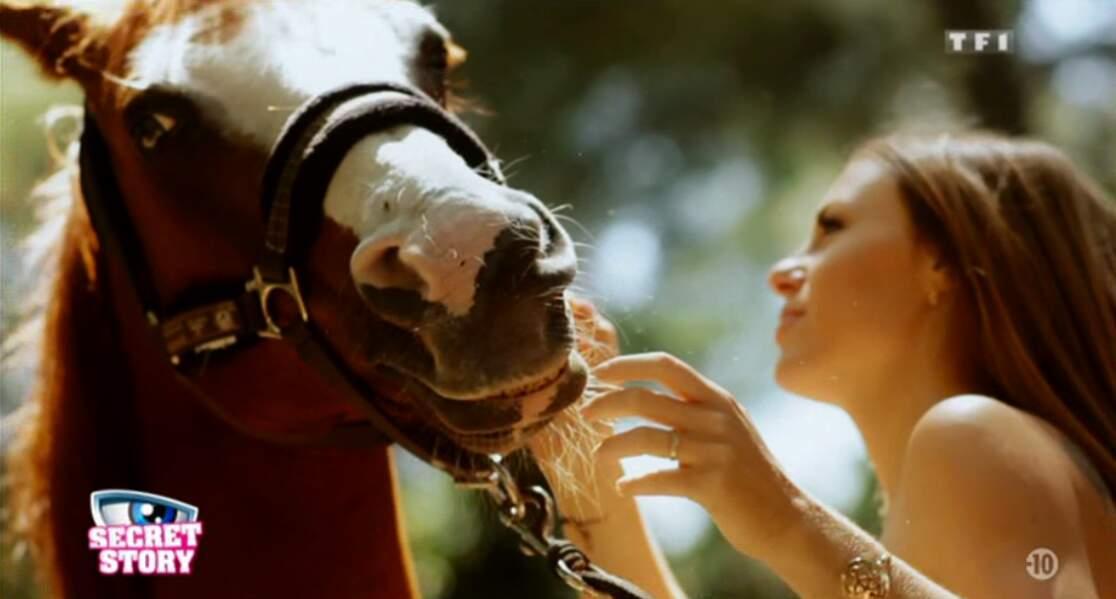 Non, vous n'êtes pas dans L'amour est dans le pré ! C'est juste Sara qui aime les chevaux