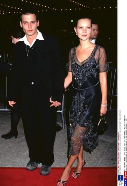 De 1994 à 1997, l'acteur vit une histoire d'amour avec Kate Moss