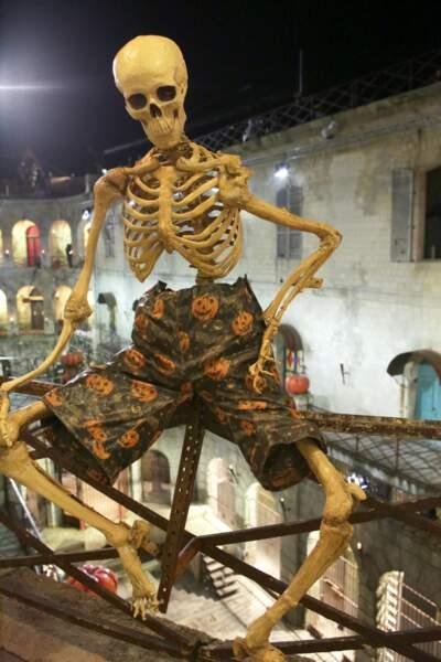 Les squelettes ont envahi les lieux