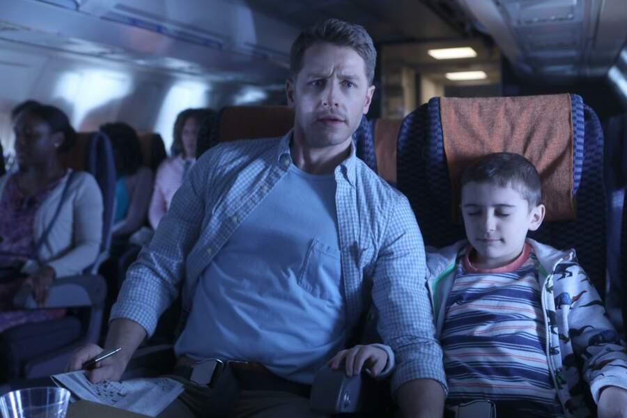 """Dans """"Manifest"""" (TF1, saison 1), les passagers de cet avion vivront une turbulente expérience temporelle !"""