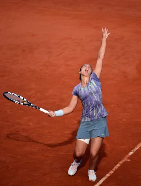 Il n'y a pas eu photo, hier, lors de la première demi-finale dames entre l'Italienne Sana Errani...