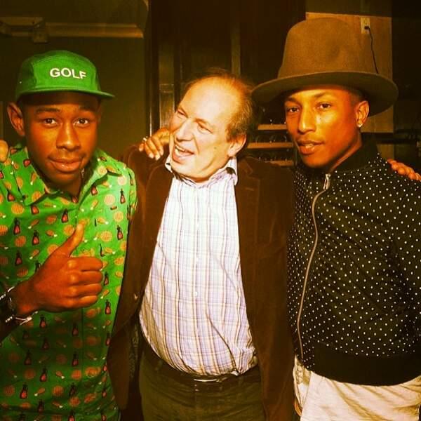 Avec Pharrell Williams il a deux points communs : le skate et le hip-hop.