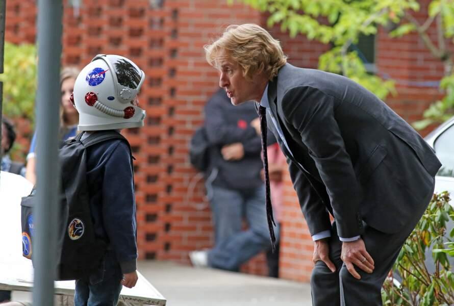 À moins que ce ne soit cette discussion étrange entre Owen Wilson et un enfant