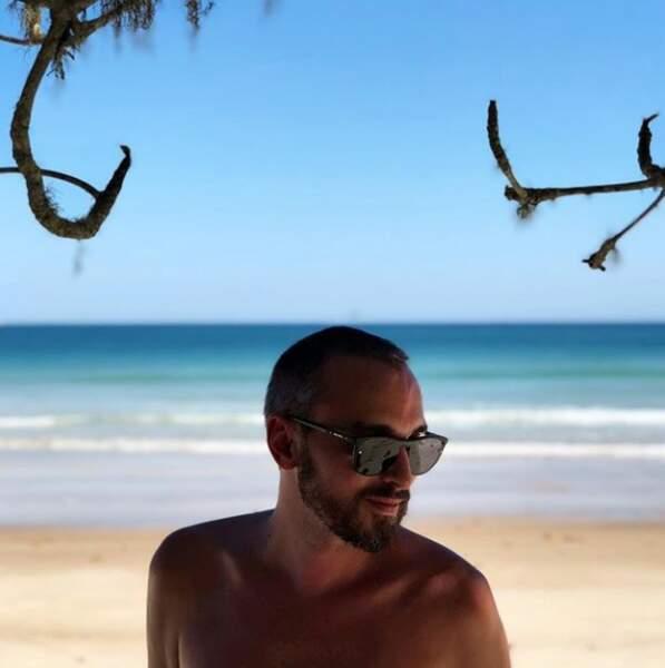 Christophe Willem sous le sunlight des tropiques