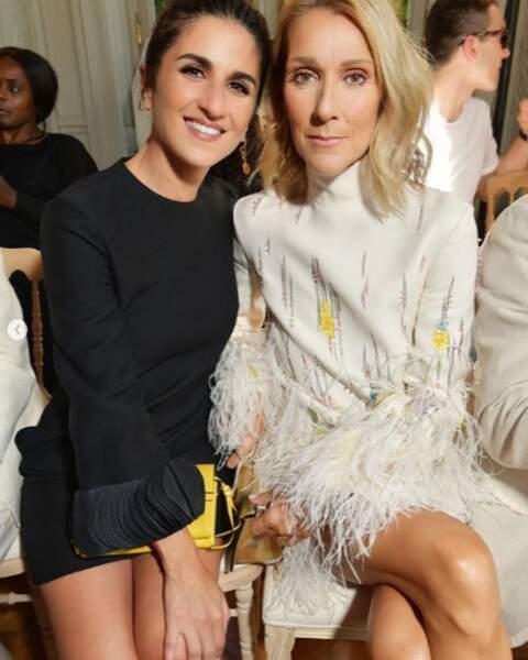 Et que vous êtes aussi heureux que Géraldine Nakache aux côtés de son idole, Céline Dion.